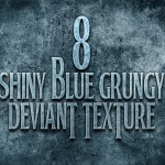 8 Blue Grungy Textures