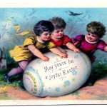 11 Easter Vintage Clip Art Graphics