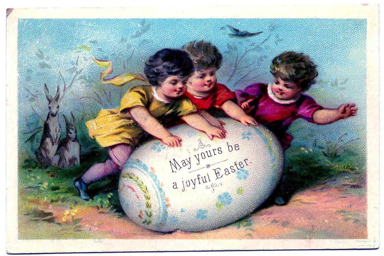 easter egg vintage