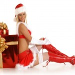 9 Free Sexy Girls Christmas Wallpapers
