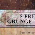 5 Grunge Wall Textures