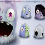 30 Free Web 2.0 Monsters Icons Set
