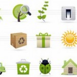 130 Free Nature Icons Set Resources