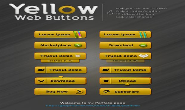 Yellow_Web_Buttons