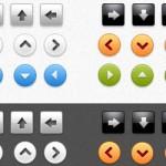 15 Best Web 2.0 PSD Buttons