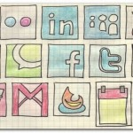 80+ Free Social Media Web Icons Set