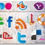 90+ Social Media Computers Web Icons Set Free