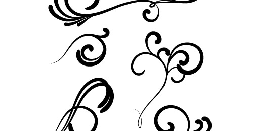 More vector swirls