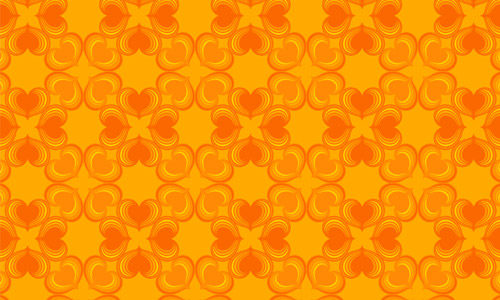 Stress Relieving Orange Pattern