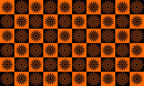 Really Cool and Nice Orange Pattern