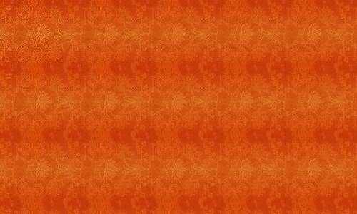 Equally Cool Orange Pattern