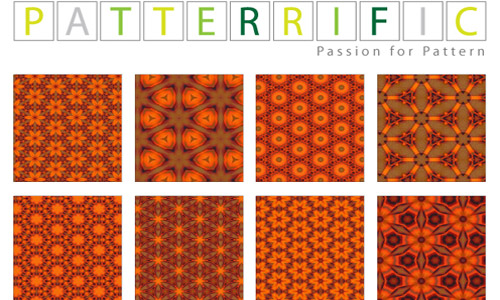 Eventually Inspiring Orange Patterns