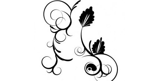 Ornamental Vector Swirls