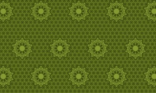 Tina green pattern