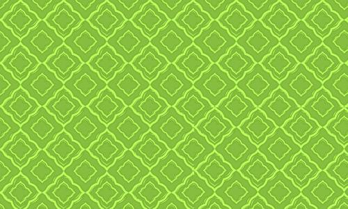 Green diamond pattern