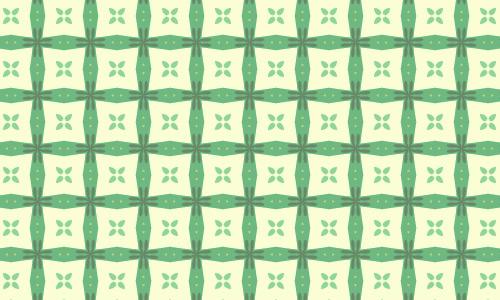 White box green pattern