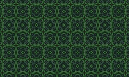 Amazing green pattern
