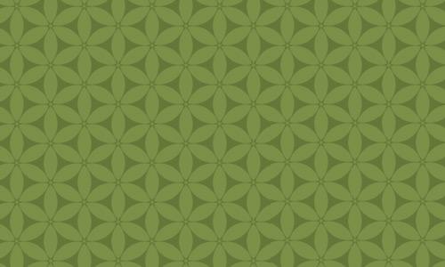 Nice flower green pattern