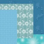 18 Free Photoshop Floral Blue Patterns