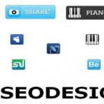 80 Social Share Buttons Icons Download