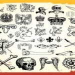 80+ Free Vintage Antique Vector Art Symbols Graphics