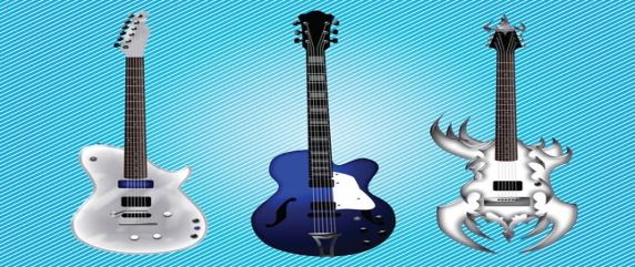 free-electric-guitars-vector-graphics