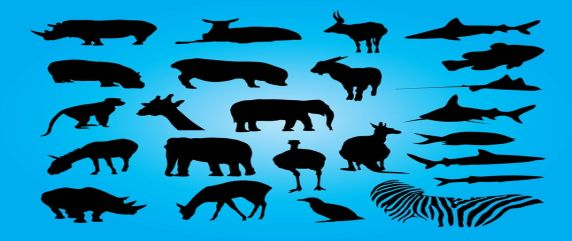 free-animals-vector-art-silhouettes