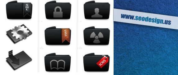 free-black-folders-icons-set-download