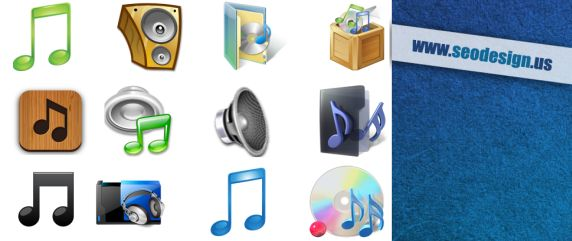 Music Icons Vector Download