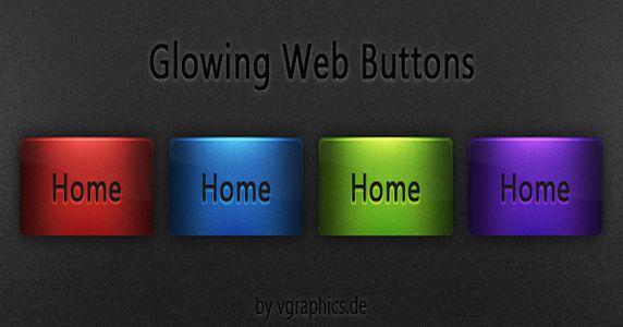 free-glowing-glossy-buttons-download