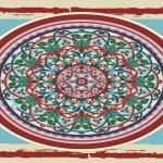 Floral Antique Circles Vector Graphics Download