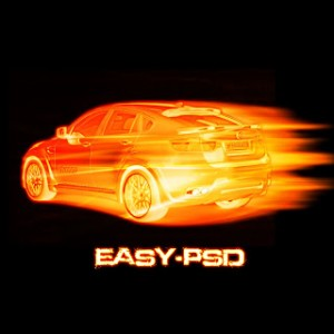 Cars Fire Effect Photoshop Tutorial