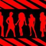 40+ Free Girls Silhouette Photoshop Brushes