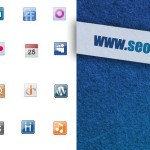 56 Free Small Social Media Web Icons Set Download
