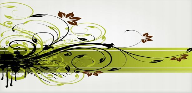 free-floral-abstract-green-vector-backgrounds
