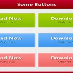 50+ Free Photoshop Web 2.0 PSD Buttons