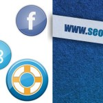 30+ Glossy Circles Social Media Icons Set
