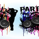 4 Music Party Flyer Vector Art Graphics