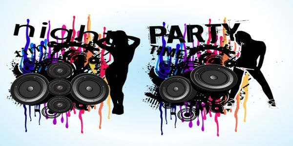 Music Party Flyer Vector Free Download