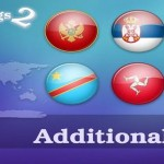 World Europe Asia Flags Icons Set Download