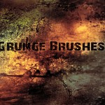150+ Abstract Grunge Photoshop Brushes