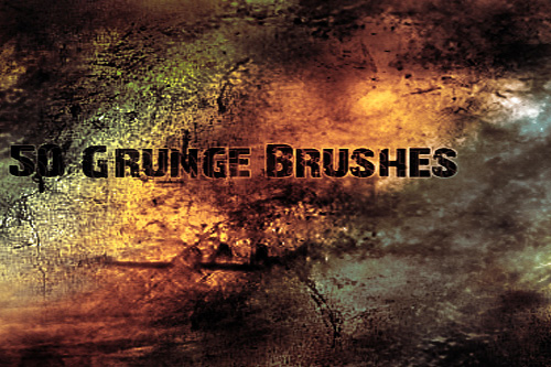 abstract free grunge photoshop brushes