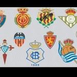 Spanish Football Teams Logos Vector Icons