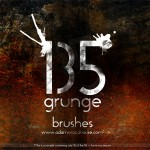 165 Grunge Photoshop Brushes Download