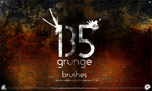 free grunge photoshop brushes textures