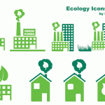 47 Ecology Green Vector Icons Set