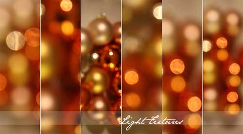 christmas bokeh light textures