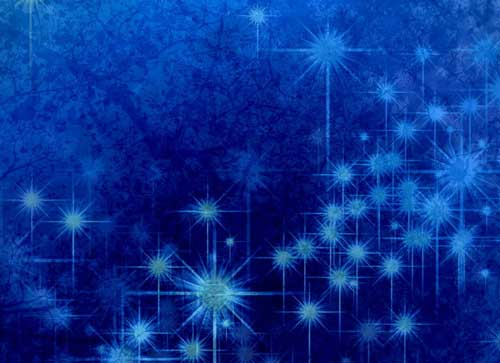 winter glittery blue texture