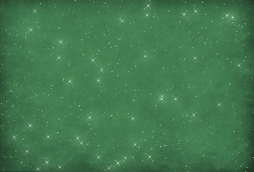 green starry glitter texture for christmas
