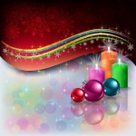 Christmas Decoration Vector Graphics Set1